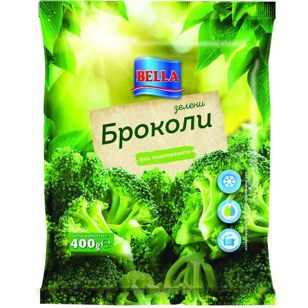БЕЛЛА броколи 400 гр.