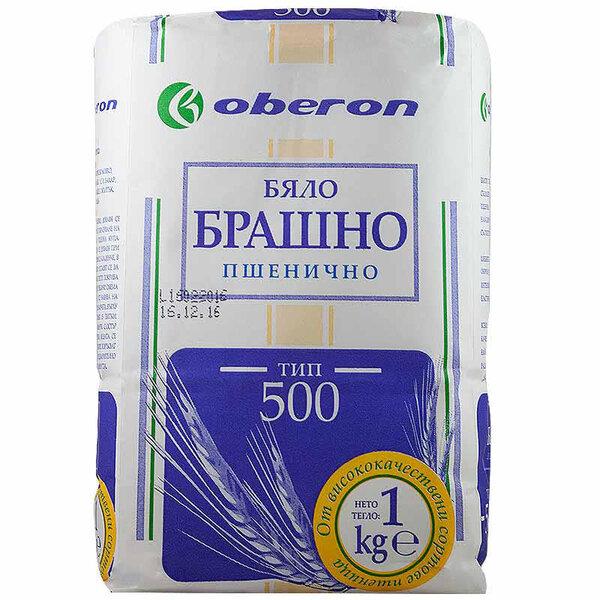 OBERON Бяло брашно тип 500, 1 кг.