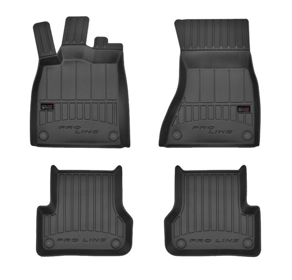 3D Гумени стелки за Audi A6 и А7 от 2011 до 09/2018 година