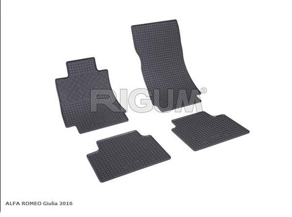 Гумени стелки за ALFA ROMEO GIULIA модел от 2016 година