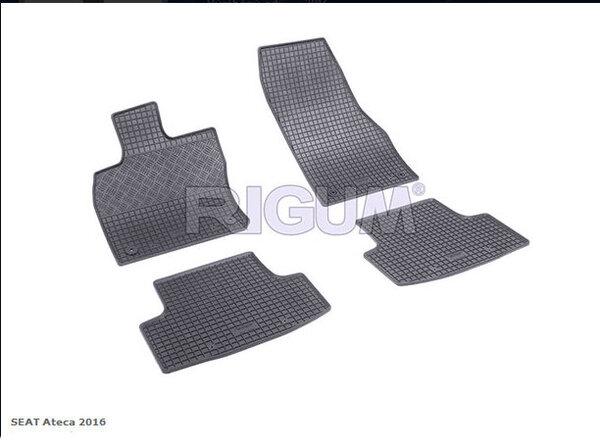 Гумени стелки за Seat Ateca модел от 2016 година