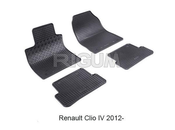 Гумени стелки за RENAULT CLIO 4 модел от 2012 до 2019 година
