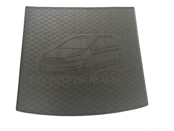 Гумена стелка за багажника на VW TOURAN модел след 2015 година ГОРНА СТЕЛКА