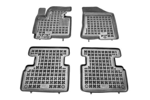 Гумени стелки с висок борд за Kia Sportage модел от 2010 до 2015 година