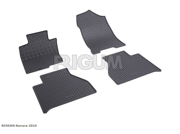 Гумени стелки за NISSAN NAVARA модел след 2016 година