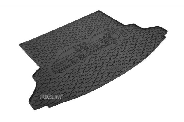 Subaru XV модел 2018 година - Гумена стелка за багажник