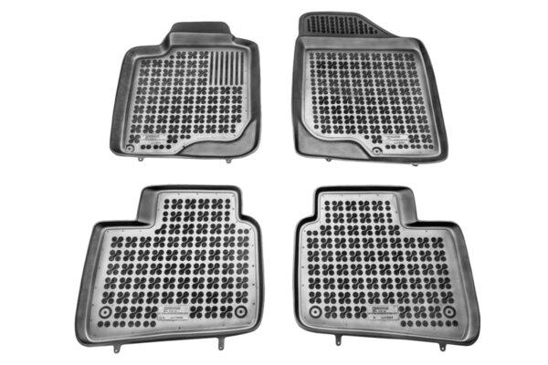 Гумени стелки за Kia Optima модел от 2012 до 2016 година - само за модел с ръчна скоростна кутия