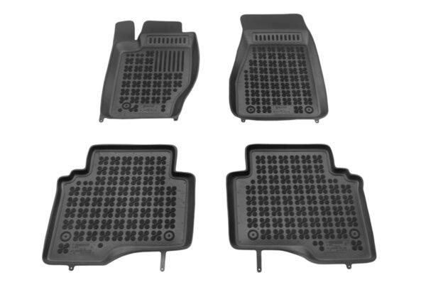 Гумени стелки с висок борд за Jeep Commander модел от 2005 до 2010 година