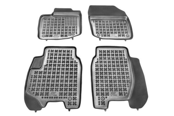 Гумени стелки с висок борд за Honda Civic HB модел от 2012 до 2016 с 5 врати и Civic sedan след 2014 година