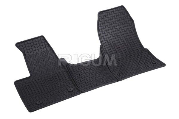 Гумени стелки за Ford Custom Aвтоматик - първи ред седалки - модел след 2018 година