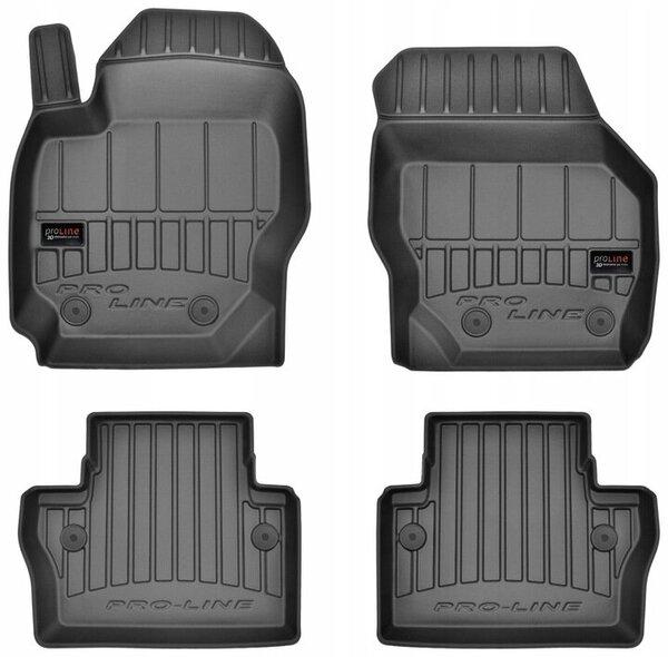 3D Гумени стелки за VOLVO V70 III - модел от 2007 до 2016 година - 3D407855