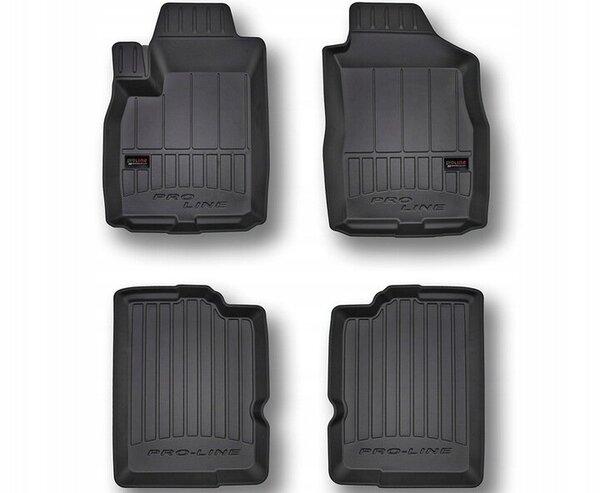 3D Гумени стелки за FIAT Panda II - модел от 2003 до 2012 година - 3D407190