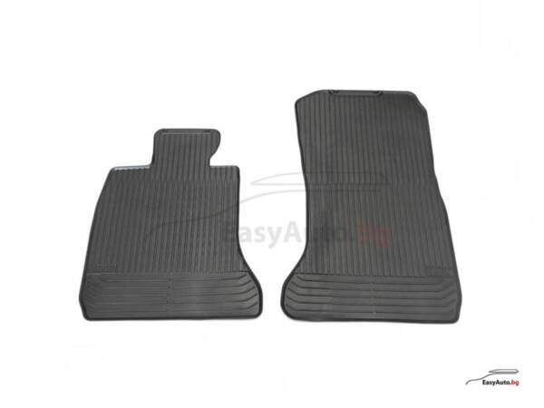 Оригинални предни гумени стелки за BMW 7 F01 - модел от 2007 до 2015 година