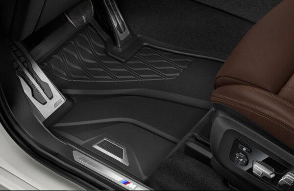 Оригинални предни гумени стелки за BMW X7 G07 - модел от 2019 година