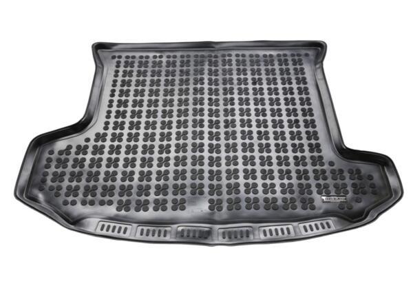 Гумена стелка за багажник на Skoda KODIAQ версия за 7 пътника (със сгънат трети ред седалки) след 2016 година
