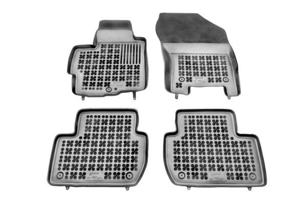 Гумени стелки за Citroen C до CROSSER версия с пожарогасител - от 2007 до 2012 година