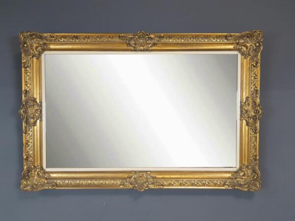 Винтидж Френско Огледало в Стил Барок Златен Варак