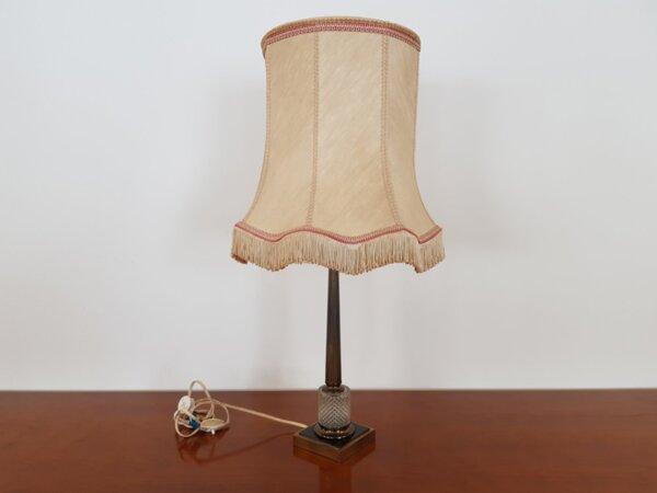 Винтидж Френска Неокласическа Настолна Лампа 1970-те Години