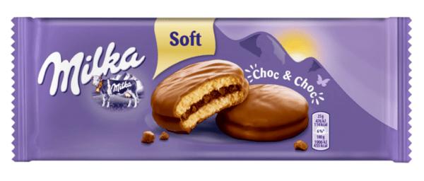 Бисквити MILKA Choc&Choc 150 г