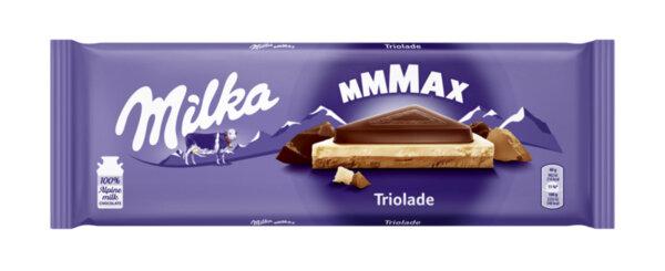 Шоколад MILKA Триоладе 280 г