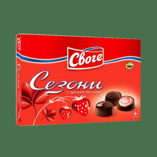 Бонбони СЕЗОНИ ягода 160 г
