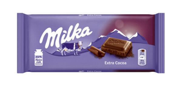 Шоколад MILKA екстра какао 90 г