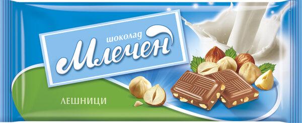 Шоколад МЛЕЧЕН лешници 80 г