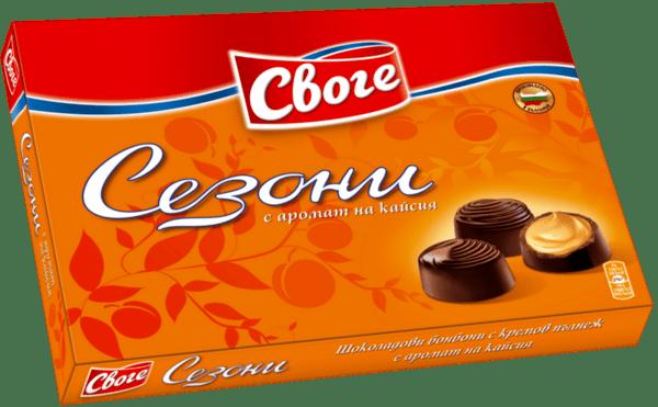 Бонбони СЕЗОНИ кайсия 160г