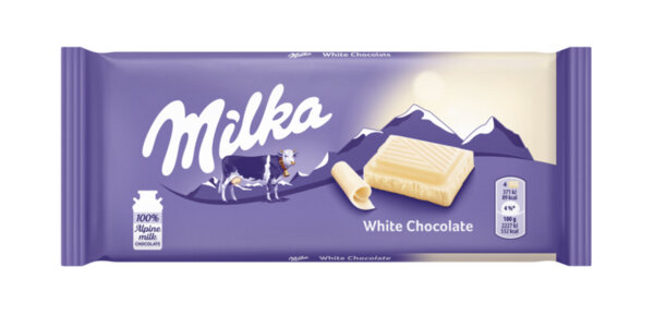 Шоколад MILKA бял 100г