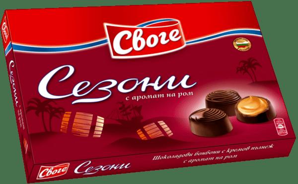 Бонбони СЕЗОНИ ром 156.5 г