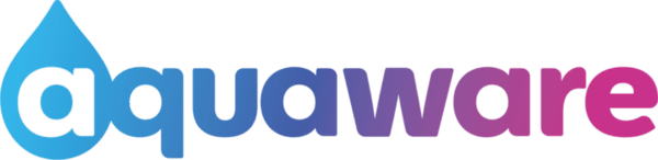 Дигитална душ система Aquaware, за вграждане на стена, дигитален дисплей и подвижен душ, хром