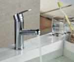 Смесител Aquaware AQXR604 с функция издърпване и гъвкав шлаух, хром