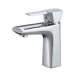 Смесител Aquaware за баня, стоящ с модерна визия, хром