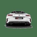 Akrapovic Slip On (titanium) BMW Z4 M40i OPF