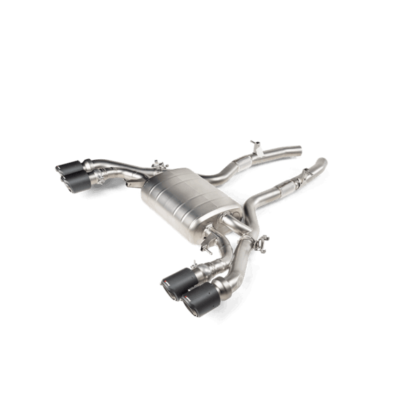 Akrapovic Slip-On Line (Titanium) BMW X3 M / X3 M Competition (F97) / X4 M / X4 M Competition (F98)