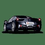 Akrapovic Slip-On Line (Titanium) Ferrari 458 Italia/458 Spider