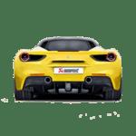 Akrapovic Slip-On Line (Titanium) Ferrari 488 GTB/488 Spider