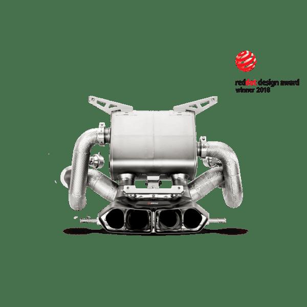 Akrapovic Slip-On Line (Titanium-Inconel) Lamborghini Aventador LP 700-4 Coupé/Roadster