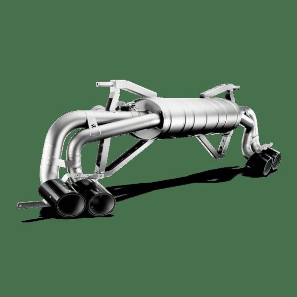Akrapovic Slip-On Line (Titanium) Lamborghini 550/560