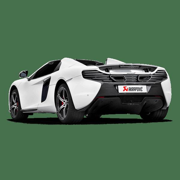 Akrapovic Slip-On Line (Titanium) McLaren 650S / 650S SPIDER