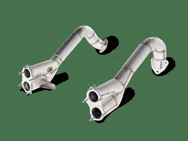 Akrapovic Link pipe set (Titanium) PORSCHE 718 CAYMAN GT4 / SPYDER