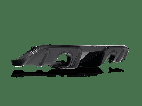 Akrapovic Rear Carbon Fiber Diffuser - High Gloss PORSCHE 718 CAYMAN GT4 / SPYDER