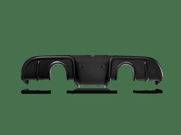 Akrapovic Rear Carbon Fiber Diffuser - Matte PORSCHE 718 CAYMAN GT4 / SPYDER