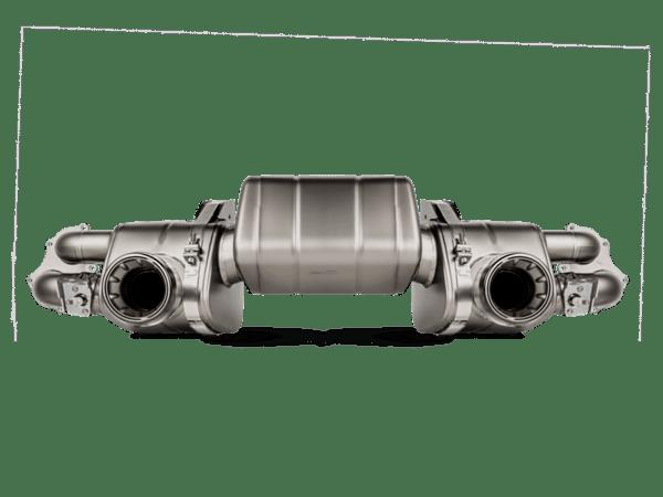Akrapovic Slip-On Race Line (Titanium) PORSCHE 718 CAYMAN GTS 4.0 / BOXSTER GTS 4.0