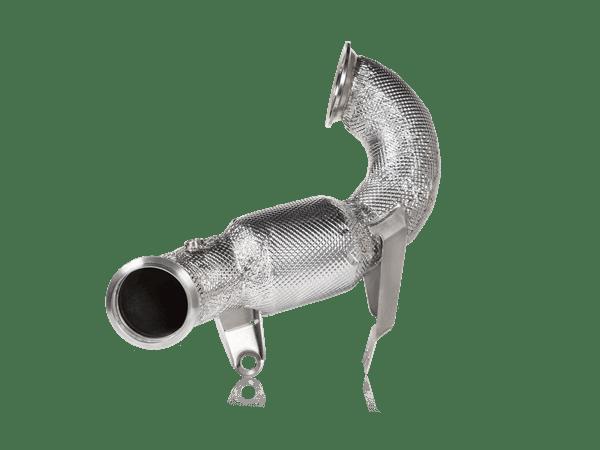 Akrapovic Downpipe w Cat (SS) - MERCEDES-AMG A 45 / A 45 S (W177)/CLA 45 / CLA 45 S (C118/X118)