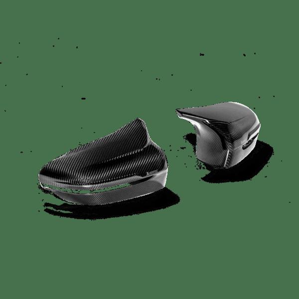 Akrapovic Carbon Fiber Mirror Cap Set - High Gloss