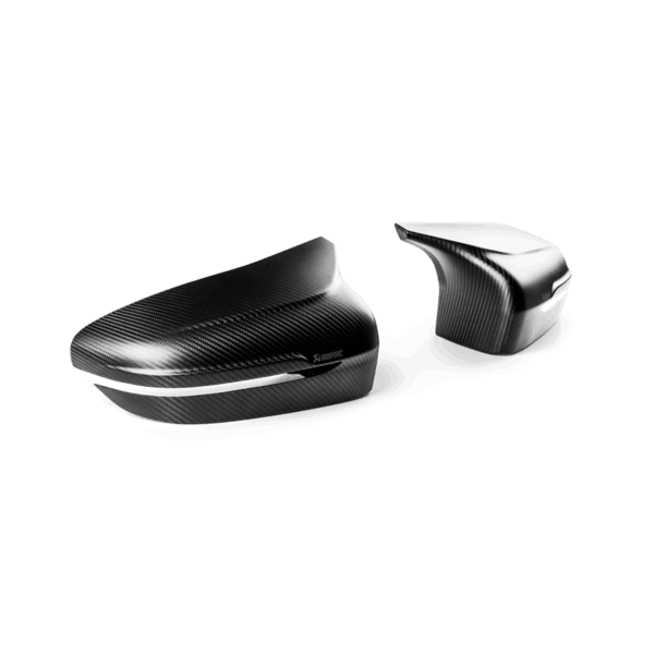 Akrapovic Carbon Fiber Mirror Cap Set - Matte