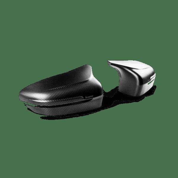 Akrapovic Carbon Fiber Mirror Cap Set - Matte