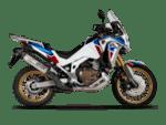 Akrapovic Slip-On Line (Titanium) CRF1100L Africa Twin Adventure Sports