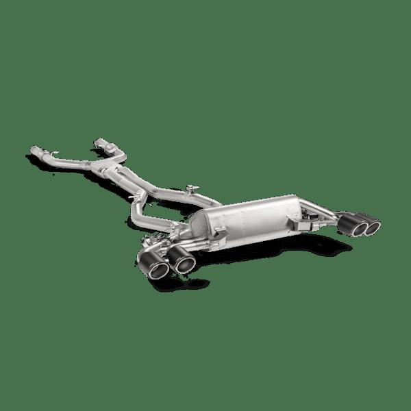 Akrapovic Evolution Line (Titanium) Alfa Romeo Giulia Quadrifoglio